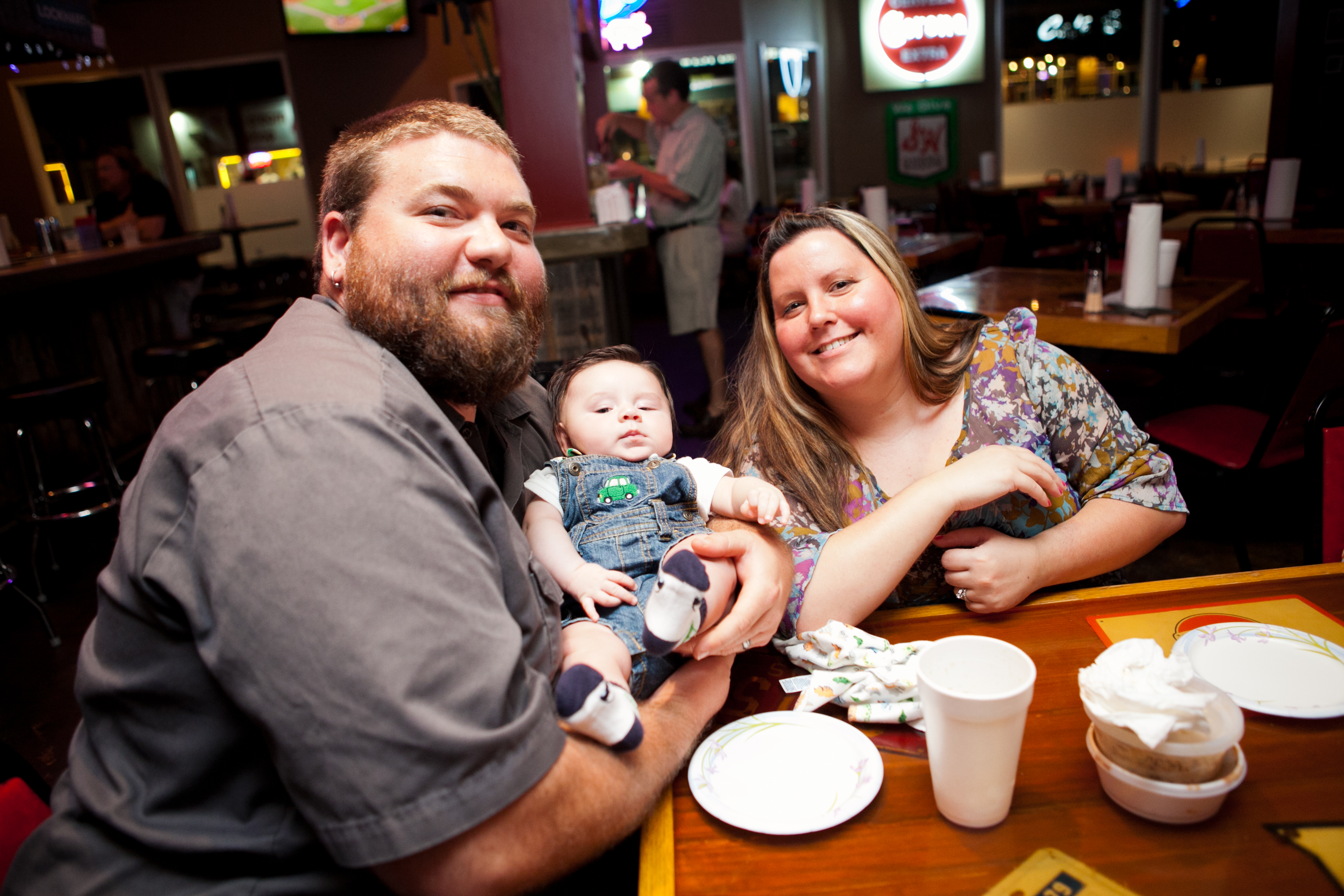 Birthday, Evan Halferty, Lockhart Barbeque