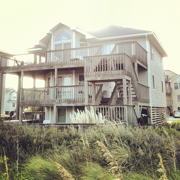 Outerbanks, North Carolina, Beach, Vacation