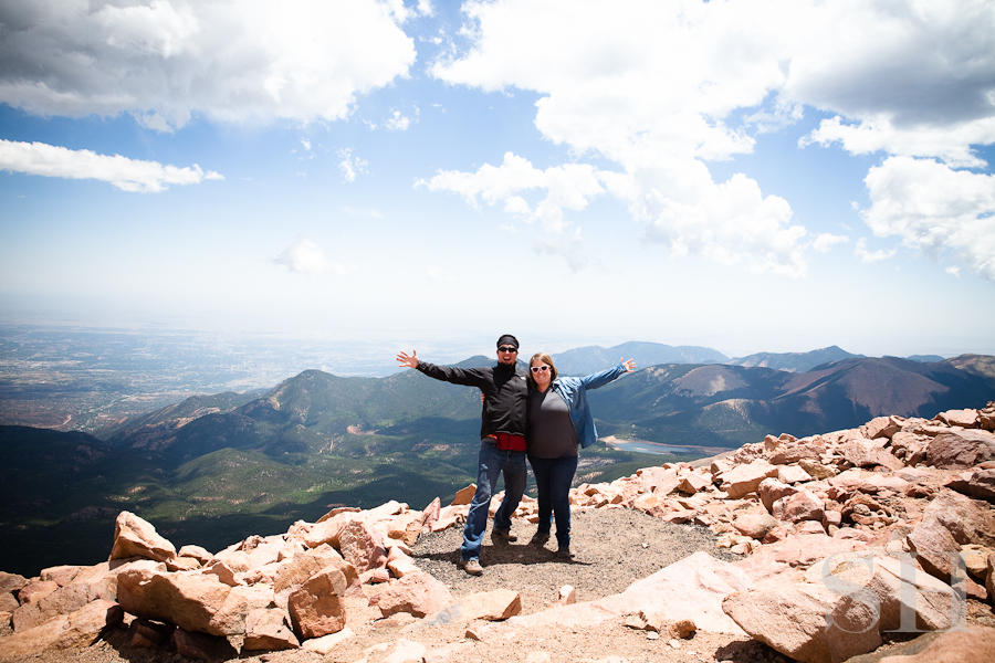 Colorado, mountains, Pike's Peak