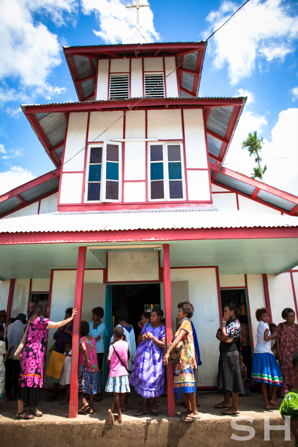 Papua New Guinea, Church, Madang, POC